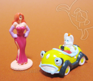 Disneyland resort - Walt Disney World Collector Packs Series-5 /Jessica Rabbit, Benny the Cab & Roger Rabbit