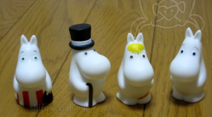 Finger Puppet Moomin (Moomin cafe Exclusive)