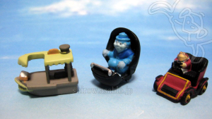 Disneyland WDW Collector Packs Series-2 /Jungle Cruise, Doom Buggy, Mr. Toad's Wild Ride car