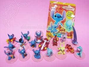 Japanese Disney Collector Packs - Petit TOYS - Stitch series (2005)