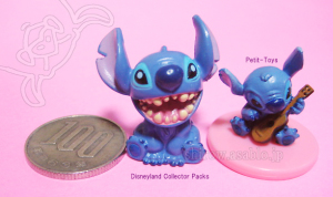 Stitch /Coin : Disneyland Collector packs : Petit-Toys