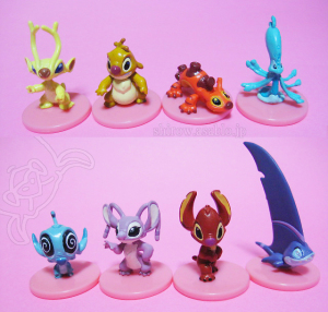 Stitch Series / Petit-Toys : stitch's cousins