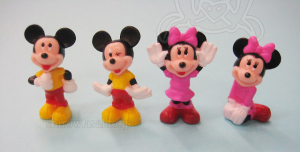 Diverchok Chocolate / Mickey Mouse & Minnie Mouse