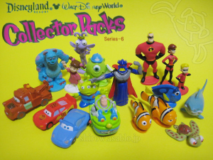 Disneyland - Walt Disney World Collector Packs Series-6 / PIXAR Characters