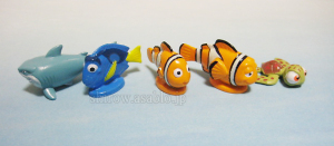 Disneyland · Walt Disney World Collector Packs Series-6 /Finding Nemo - Nemo, Marlin, Dory