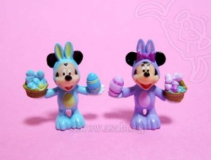 DLR-WDW Disney Collector Packs Series-7/Easter Bunny Mickey,  Easter Bunny Minnie