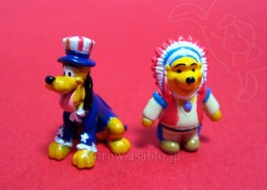 DLR-WDW Disney Collector Packs Series-7/4th of July Pluto,Thanksgiving Pooh