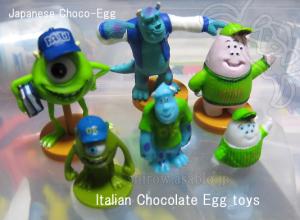 日本のフルタvsイタリア Zainiのチョコエッグ対決!