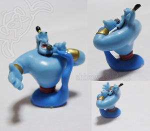 Disney's Aladdin Genie Mini Soft Mascot (SEGA JAPAN / 2005)/ MC Genie