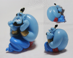 Disney's Aladdin Genie Mini Soft Mascot (SEGA JAPAN / 2005)/ Shrink Genie