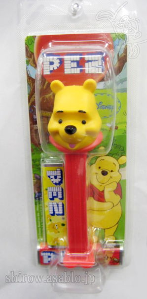 PEZ/Winnie The Pooh (NEW) Japanese Package (MORINAGA)