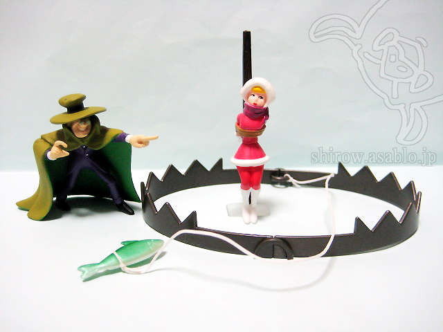 Perils of Penelope Pitstop /  Hanna-Barbera Productions Figure Collection Vol.1