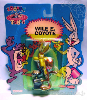 Looney Tunes Collectible Figurine / Wile.E.Coyote ( TYCO / 1994)