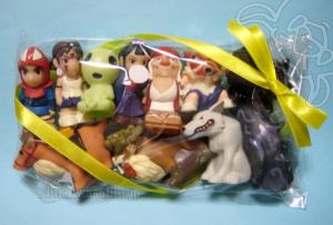 ジブリがいっぱい指人形/もののけ姫 set