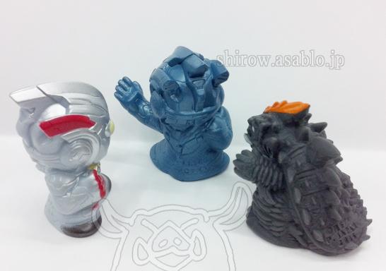 指人形/ウルトラマンXとデマーガとウルフェス限定ユナイトブルーver.(背面)