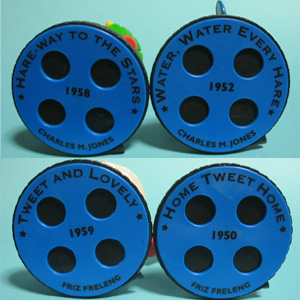 PVC figure/ Looney Tunes Film reel collection/ base / by Applause (1997)