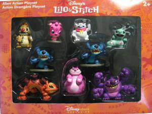 Lilo & Stitch: The Series / Alien Action Play set / Disney StoreExclusive