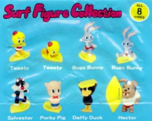 LOONEY TUNES x Play set products / Surf Figure Collection