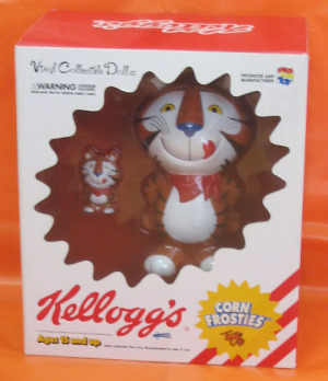 VCD/ Kellogg's TONY THE TIGER (Vintage type)/ MEDICOM-TOY