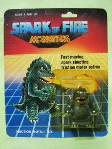 SPARK OF FIRE MONSTERS /Godzilla (copycat)