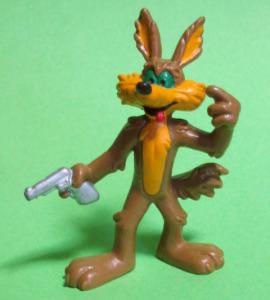 PVC figurine / Wile.E.Coyote / BULLY (1984)