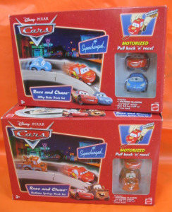Disney Pixar Cars Race and Chase Track Set