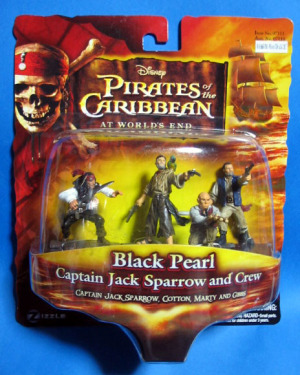 Figurine set / Pirates of the Caribbean At World's End / Black Pearl set / Zizzle Toys