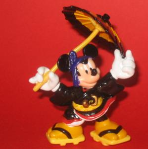 PVC figurine / Kabuki Mickey Mouse (Sukeroku)