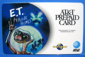Telephone Card / E.T. /AT&T