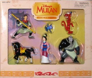 POSEABLE FIGURES/ MULAN / by Walt Disney Parks and Resorts