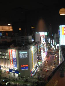 新宿西口側の夜景