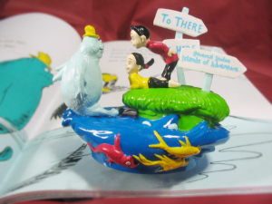 PVC/ Dr.Seuss' One Fish, Two Fish, Red Fish, Blue Fish