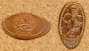 Souvenir Penny/ Pirets of The Caribian /WDW Magic kingdom