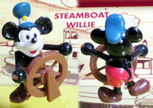 PVC / Steamboat Willie / MICKEY MOUSE / by APPLAUSE