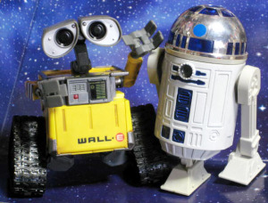 WALL-E and R2-D2