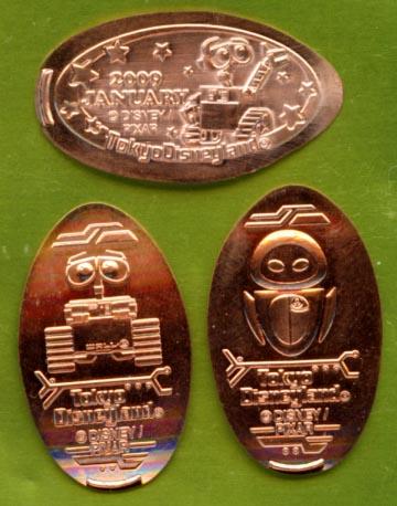 Souvenir Medal / WALL-E / TDL