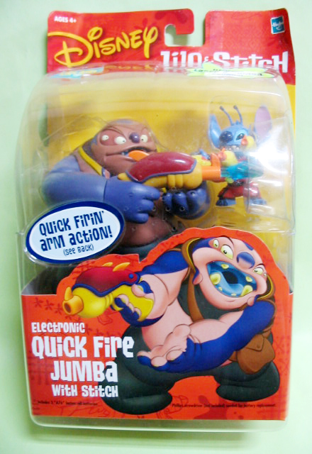 Action Figure / Quick Fire JUMBA with STICH / Hasbro (2002)