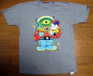 T-shirt/アストロ・ノーツ<怪物くんX The Wonderfull Design Works.>