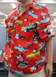 Aloha shirt/Mickey Mouse (Mickey's Splashers by J.G. HOOK)