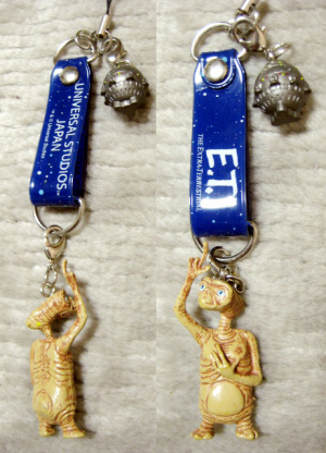 E.T. mini mascot / Universal Studio Japan