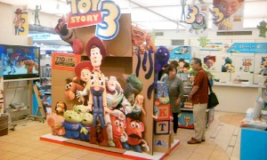Toy Story 3 Fair at TOKYO Station