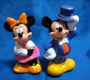 BANK / MICKEY MOUSE and MINNIE MOUSE /by Bank of Tokyo Mitsubishi (1996)