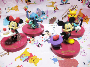 Capsule Toy / Walt Disney 110th Anniversary Stand Figure Collection / by T-ARTS