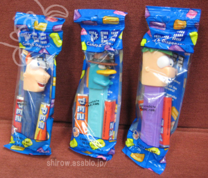 PEZ/Phineas and Ferb
