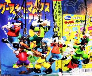 Disney's Goofy the movie Goofy and Max dancing pose mascot /by T-ARTS