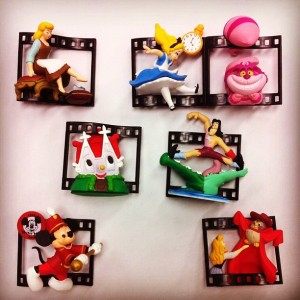 Collectible Capsule Toy / Disney Cine-Magic Films Vol.3 /By T.Arts (Japan)