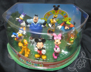 Figurine Play set/MICKEY MOUSE CLUBHOUSE DX set/Disney Store