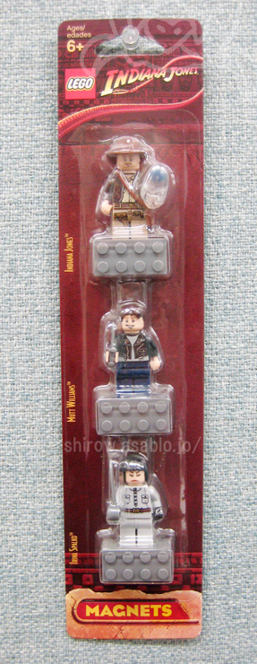 LEGO MAGNETS/ Indiana Jones (2008)