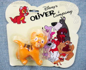 Disny's Oliver and Company figure toy / Sears Exclusive (1988)