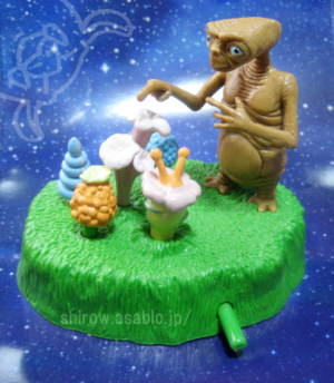 Figurine Toy/ E.T. / Universal Studios Japan